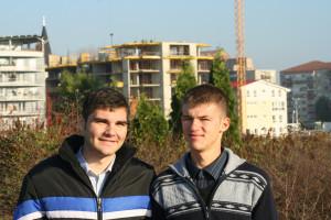 Andrei on left